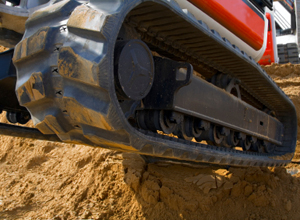 Steel & Rubber Excavator Tracks